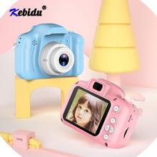 Kebidu Trẻ Em Mini Camera Trẻ Em Đồ Chơi Giáo Dục HD 2.0Inch Màn Hình LCD Nhỏ Gọn Máy Ảnh Kỹ Thuật Số Màn Hình Hiển Thị Màn Hình Trẻ Em Camera Cho Quà Tặng
