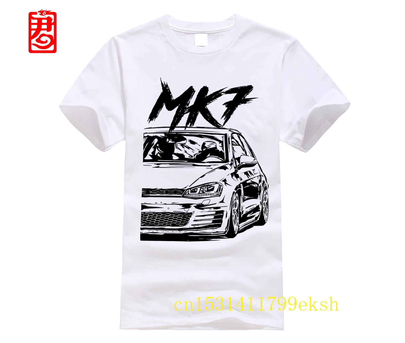 7 MK7 GTI Clubsport camisa (meliert) Mercedes|Camisetas|   - AliExpress