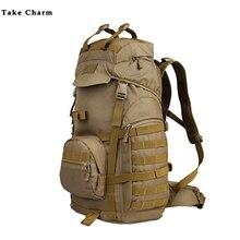 Камуфляж свободного покроя мужской дорожная сумка водонепроницаемый открытый пешие прогулки дамы большие емкость рюкзак
