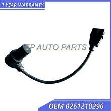 Oem 0261210296 do sensor de posição do virabrequim