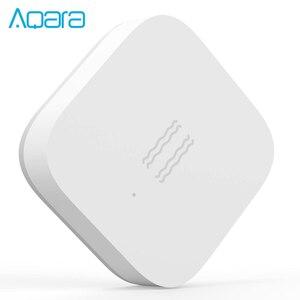Image 4 - Versão global aqara sensor de vibração choque sensor de sono objetivos de monitoramento de alarme choque de vibração trabalho mi home app