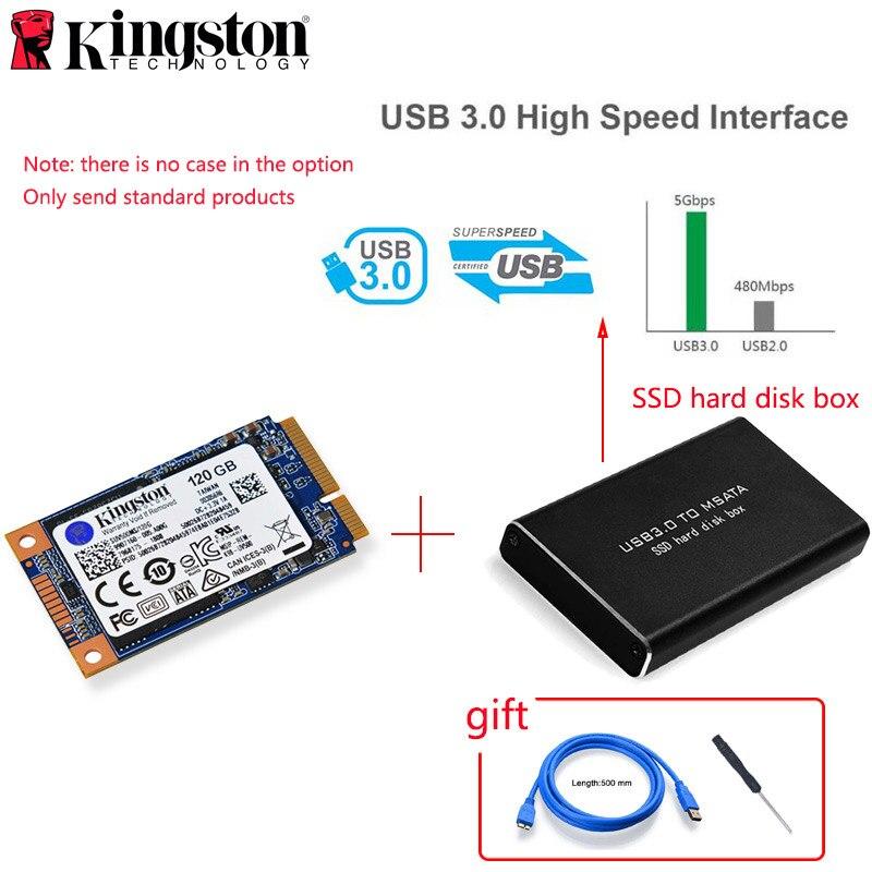 Kingston MSATA SSD 120GB 240GB 480GB mSATA SSD 1 to 2 to HDD 2.5
