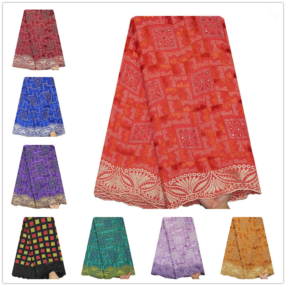 2020 Africa Cotton Dry Lace Fabric 1 Yard Price  Wedding  Important Occasion  Daily Women Dress Home Furnishing Supply