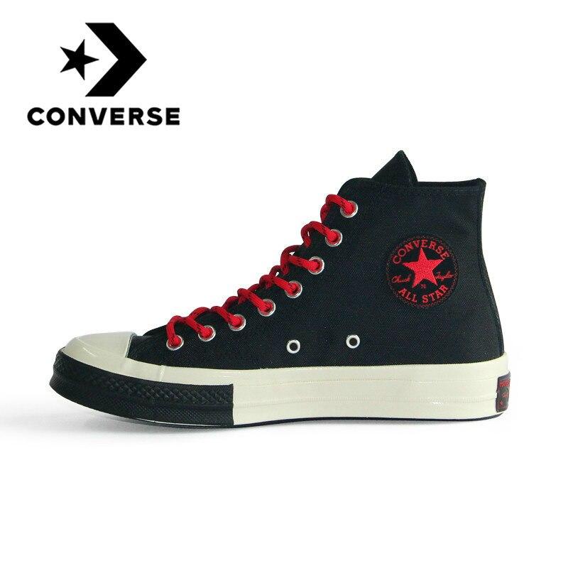Original Converse All Star 1970S Neutral Skateboarding Shoes Men And Women Leisure Sneakers Retro High Flat Lightweight 161479C
