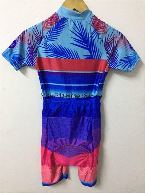 2020 mulher triathlon ciclismo skinsuit verão manga curta roupa de banho personalizado bicicleta onesies triathlon terno cor brilhante macacão 6