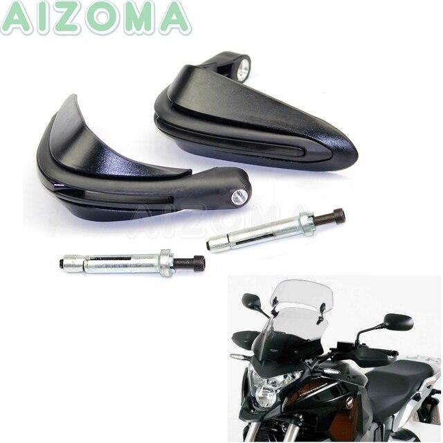 Protège mains de moto noir