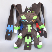 new 12 30cm Zygarde Complete Forme Plush soft Toy Stuffed Animal Doll 30cm height limited edition eevee luma anime new plush doll for fans collection toy celebi