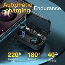M10 Earpiece Bluetooth Sport Earbuds Headset In Ear Bluetooth Earphones TWS Wireless Earbuds w/ Charging Case Microphone
