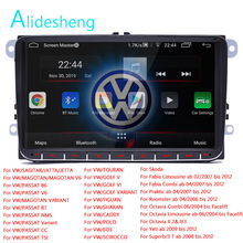 Android 8.1 para vw volkswagen golf polo skoda octavia rápida rádio tiguan passat b7 2 din player multimídia do carro gps rádio