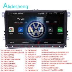 Android 8,1 для VW Volkswagen Golf Polo skoda Октавия Рапид радио Tiguan Passat b7 2 Din Автомобильный мультимедийный плеер, GPS радио