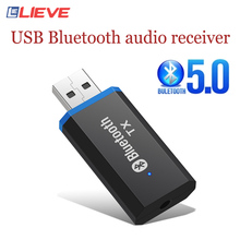 5.0 USB Bluetooth Adapter 3.5mmAUX bluetooth audio receiver Free Drive bluetooth bluetooth