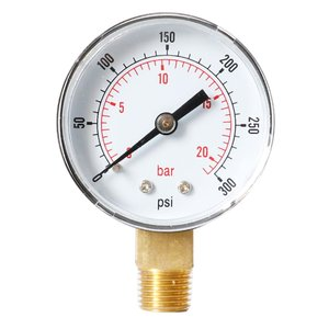 Хит продаж радиальный вакуумный манометр высокого качества Y508 манометр для масла манометр для воды
