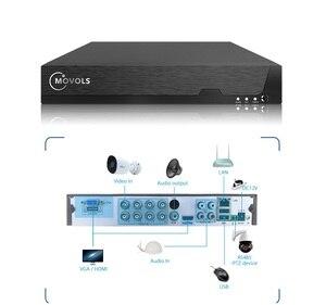 Image 3 - MOVOLS H.265 การเฝ้าระวังวิดีโอระบบ 5MP HD H.265 DVR 4PCS กล้องวงจรปิด Night Vision กันน้ำกล้องรักษาความปลอดภัยชุด