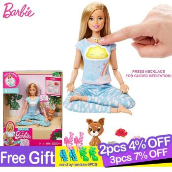 Breathe with Me Barbie Toy Joints Move Doll with Clothes and Accessories Girls Toys for Children Barbie Dolls Brinquedo Juguetes