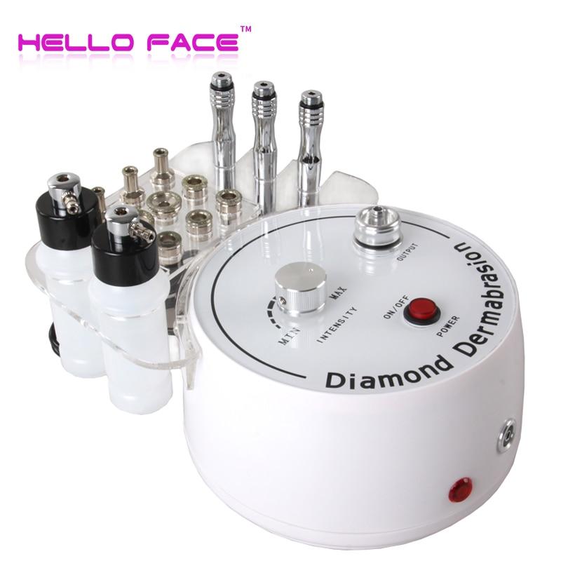 3 In1 Diamond Microdermabrasion Peel Machine Water Spray Exfoliation Dermabrasion Machine Vacuum Spray Facial Peeling For SPA