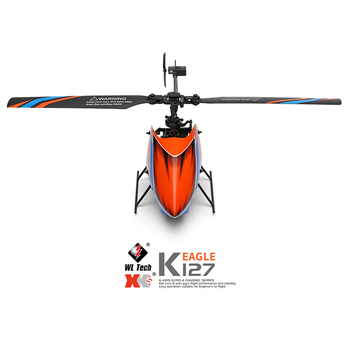 WLtoys Helicopters K127 2.4Ghz 4CH 6-Aixs Gyroscope Single Blade Propellor Gyro Mini RC Helicotper For Kids Gift RC Toys v911 4