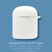 1/2 uds del I7S TWS caso Bluetooth inalámbrico compatible con auriculares parachoques I7S TWS estuches para auriculares TPU cubierta protectora