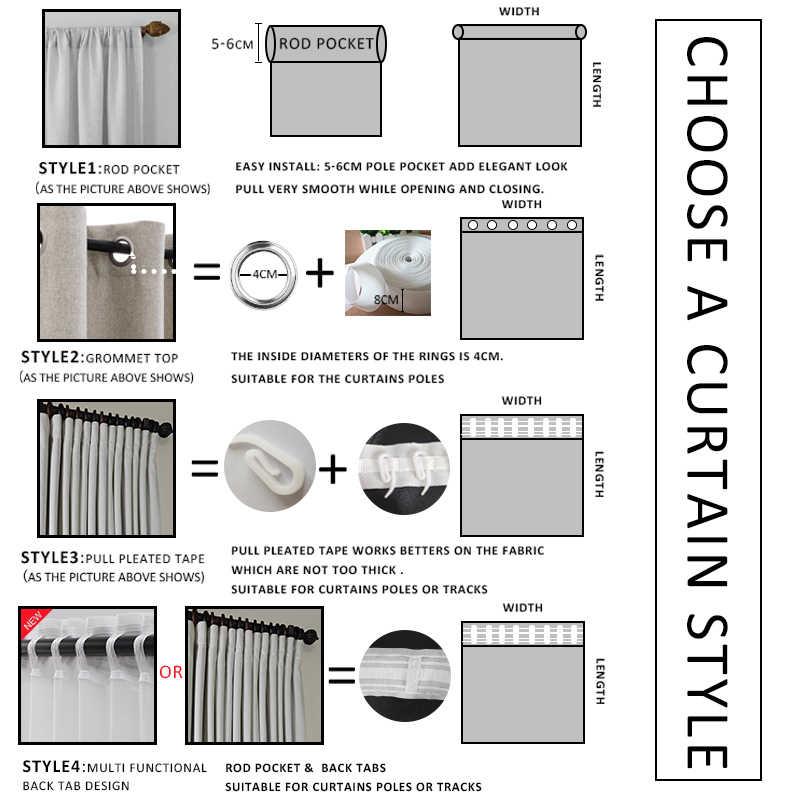 Moderne Verduisterende Gordijnen Voor Woonkamer Gordijnen Voor Slaapkamer Afgewerkte Stoffen Gordijnen Blinds Aangepaste