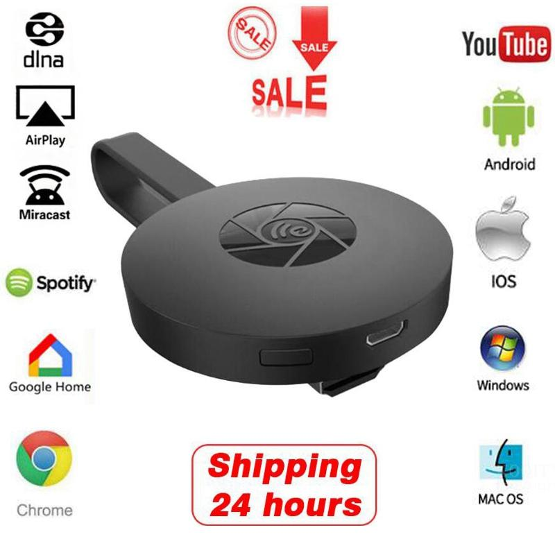 2,4G 1080P HDMI Wireless WiFi Anzeige Empfänger HD <font><b>TV</b></font> <font><b>Dongle</b></font> Chromcast Spiegel Screen Miracast Airplay Media Streamer Google hause image