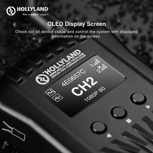 Image 2 - الأصلي هوليلاند المريخ 400s اللاسلكية نقل صورة HD جهاز استقبال صوت وفيديو لاسلكي 400ft HDMI SDI 1080P VS المريخ 300 موما 400