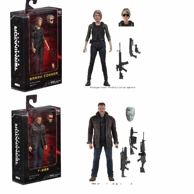 NECA Terminator T-800 Dark Fate Sarah Action Figure Collectible Model Toys Gift