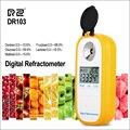 RZ Цифровой рефрактометр ЖК-дисплей Brxi фруктовый сок сахарный рефрактометр для декстрона фруктоза Глюкоза лактозы мальтозы