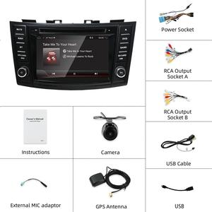 "Image 3 - Bosion Auto Multimedia Dvd speler 7 ""Android 10.0 Gps Voor Suzuki Swift 2011 2015 Navigatie Stereo Autoradio Video auto Radio Gps"