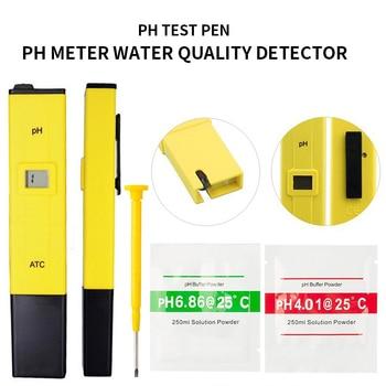 цена на New LCD Digital PH Meter High Accuracy  0.1 PH Tester Aquarium Pool Water Quality Measure Wine Urine Automatic Calibration 0-14