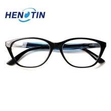 Henotin новые ретро очки для чтения женщин весенние петли кошачий
