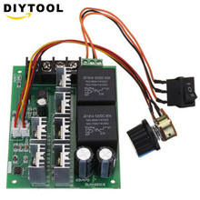 Motor Controller DC 10-50V 12/24/48V 60A PWM DC Motor Speed Controller CW CCW Reversible Switch hot sale dc 12 48v 400w aluminum alloy cnc spindle motor er11 mach3 pwm speed controller mount 3 175mm
