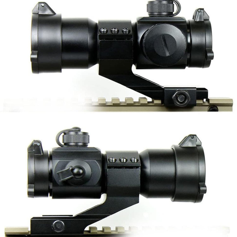 ou tecelão rails rifle escopo holográfico airsoft