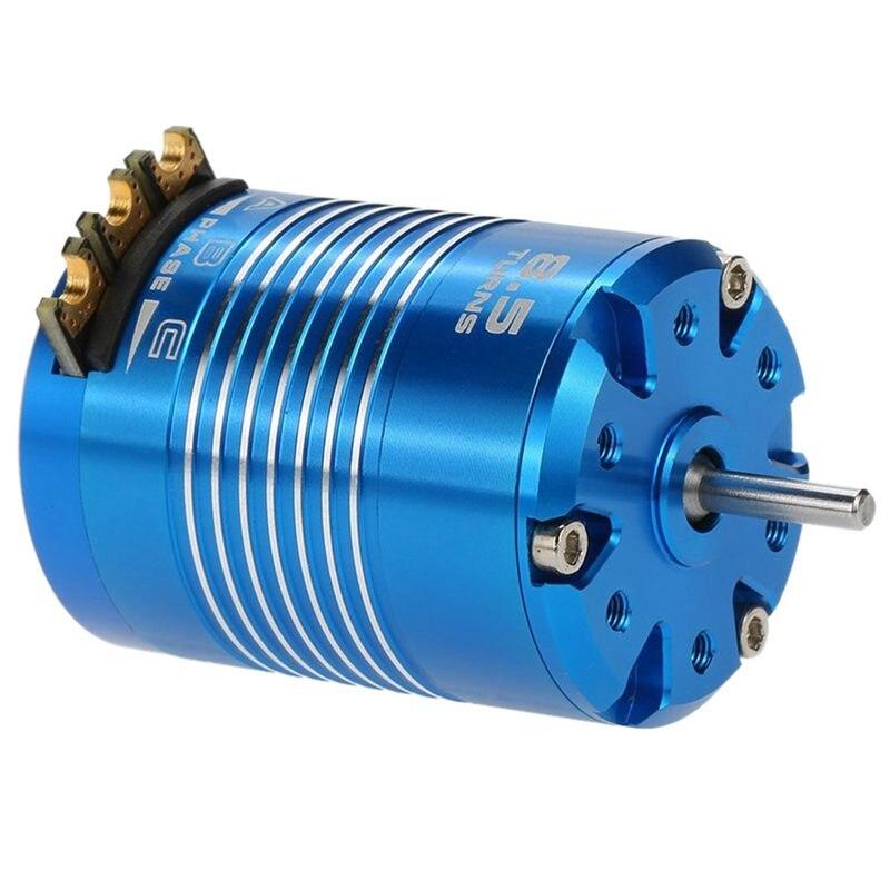 540 para o azul do carro de 1 10 rc, 8.5 t 4100kv