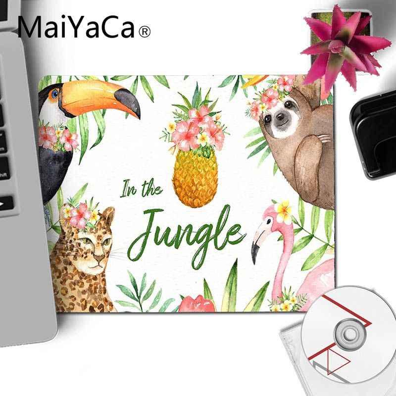 MaiYaCa Piccoli Animali Acquerello arte Pad In Gomma per il Mouse di Gioco FAI DA TE Design gaming Mouse pad Tappetini Per PC Del Computer Portatile Notebook