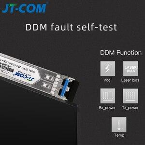 Image 2 - Оптический SFP модуль 1 Гбит Gigabit 20 км 120 км DDM дуплекс LC Mini Gbic 1,25 Г Оптоволоконный модуль SFP Модуль трансивера Совместимый SFP коммутатор Mikrotik Cisco