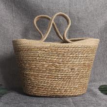 Bohemia Handmade Straw Bags For Women Large Capacity Straw Woven Women Handbags Summer Beach Weave Shoulder Bag Women