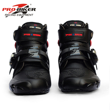 Ankle-Boots Riding-Shoes Motorcross Motorcycle-Racing-Protective Non-Slip A9003 Tribe