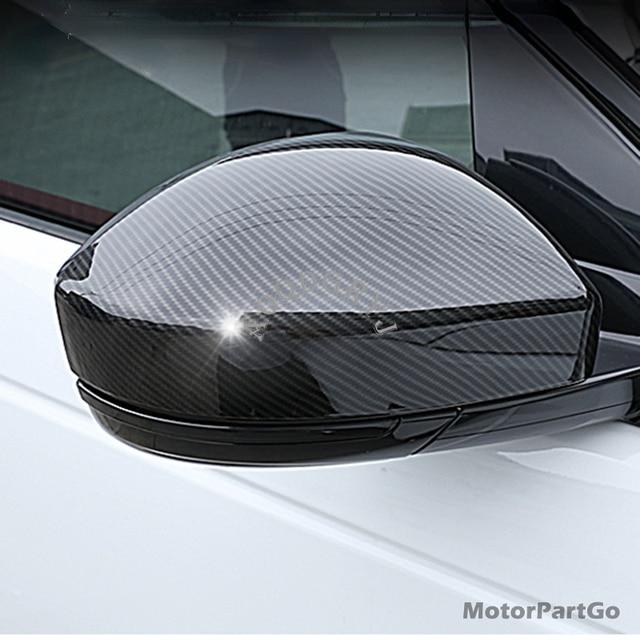Real Crabon Fiber Mirror Cover1 pair for Jaguar E-PACE 2018-2020 T262M 2