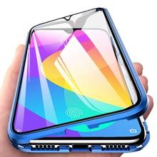 Manyetik adsorpsiyon Flip telefon kılıfı için Xiaomi MI A3 10 Pro 9 Lite 9 işık Mi10 360 arka kapak xiaomi Redmi not 9s 9 8T 8 Pro