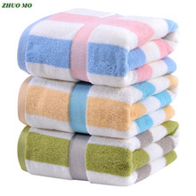 Bath-Towels Sheets Hotel Shower Spa Cotton Fashion Women Stripe for Adults Large Super-Absorbent