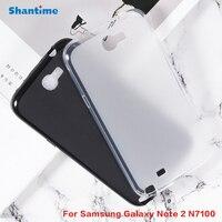 Funda protectora trasera de silicona para Samsung Galaxy Note 2, N7100, N7100