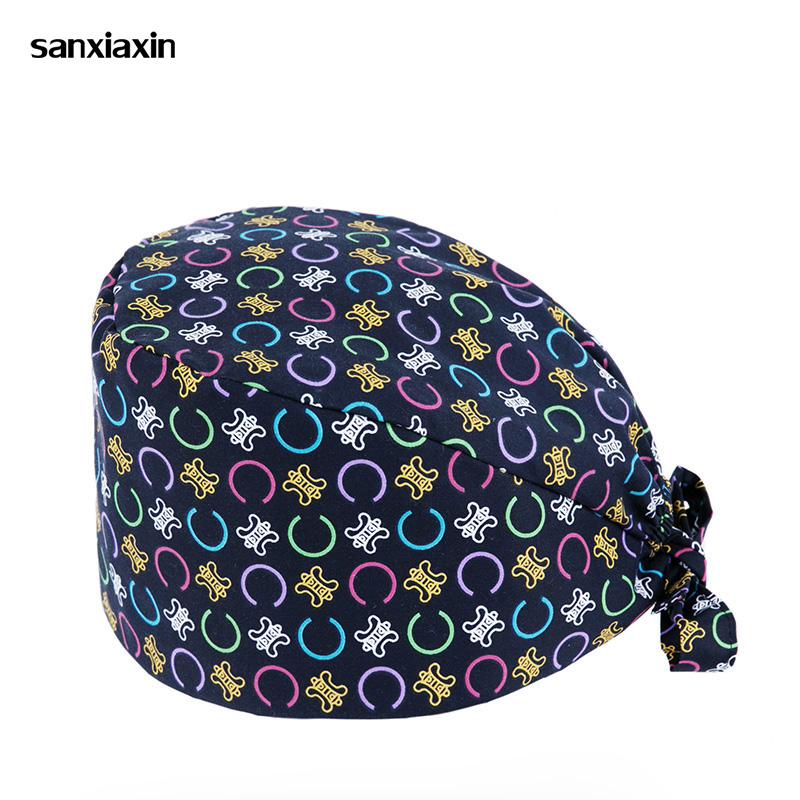 Sanxiaxin Medical Surgical Scrub Caps Surgical Surgeon's Surgery Hat Pet Doctor Cap/hats Dentist Cap/hats Nursing Scrubs Hat New