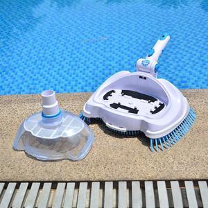 Инструменты для очистки и обслуживания, долговечный бассейн с вакуумной головкой и щеткой, оборудование для подводного очищения, всасывающ...