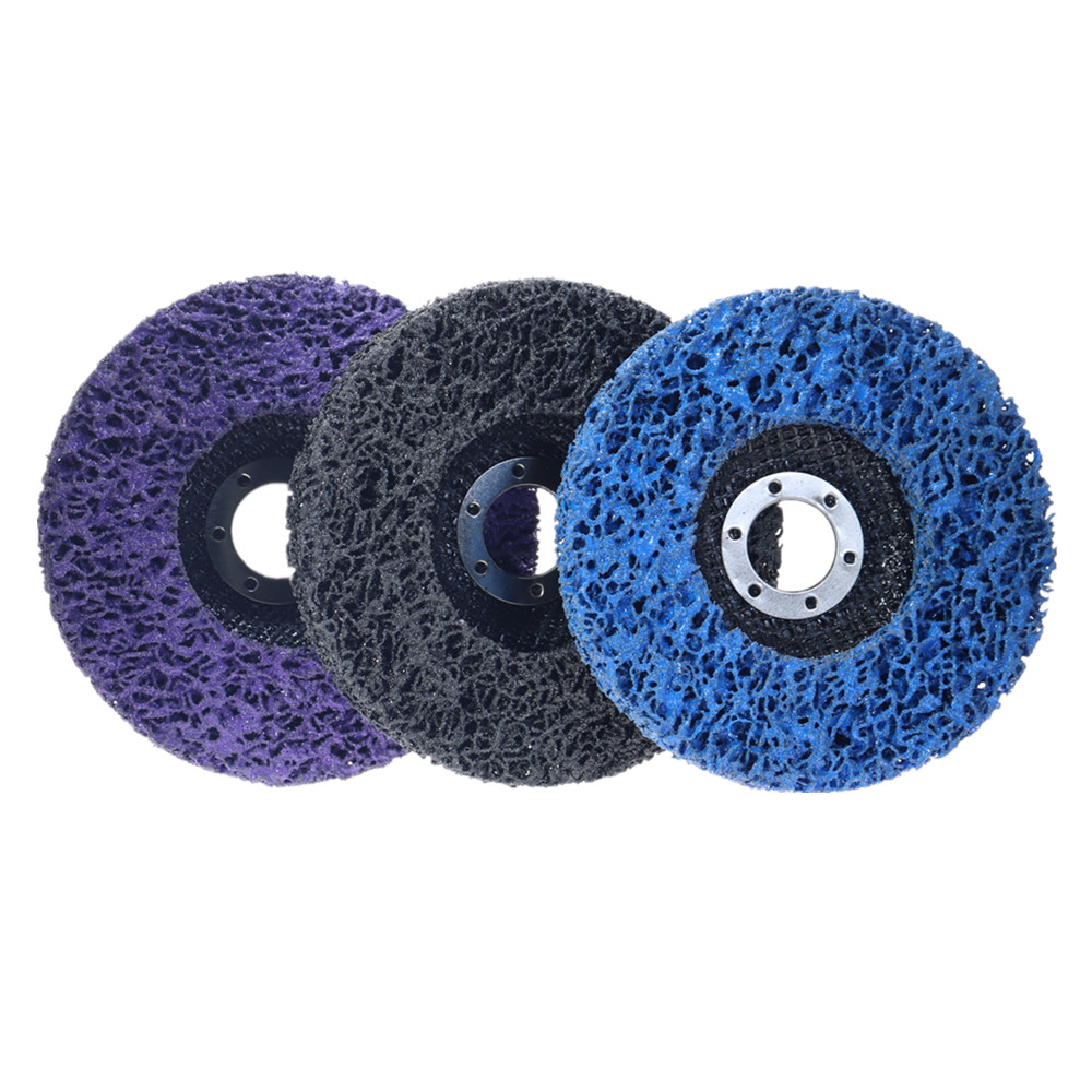 2Pcs 125mm Black Blue Diamond Grinding Disc Abrasive Disc Belt Grinder Wheel Abrasive Tools Polishing Buffing Wheels