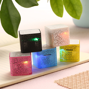 Portable Speaker Mini LED Musi