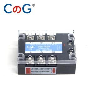 Image 3 - CG 3 Fase 60A 80A 100A DA Tre Fasi SSR 3 32V DC di Controllo 24 480V AC Relè A Stato Solido SSR DC A Relè AC