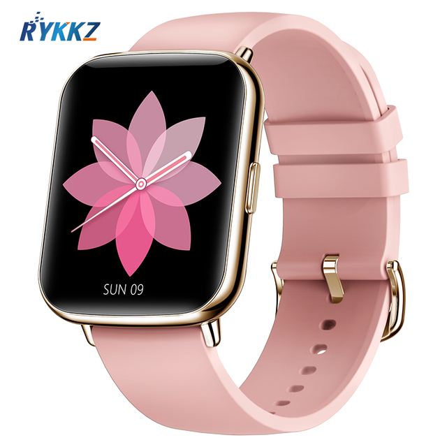 Smartwatch l1 2021, à prova dágua, monitoramento de frequência cardíaca, lembrete de chamada/mensagem, fitness, esporte, bluetooth, para android, ios