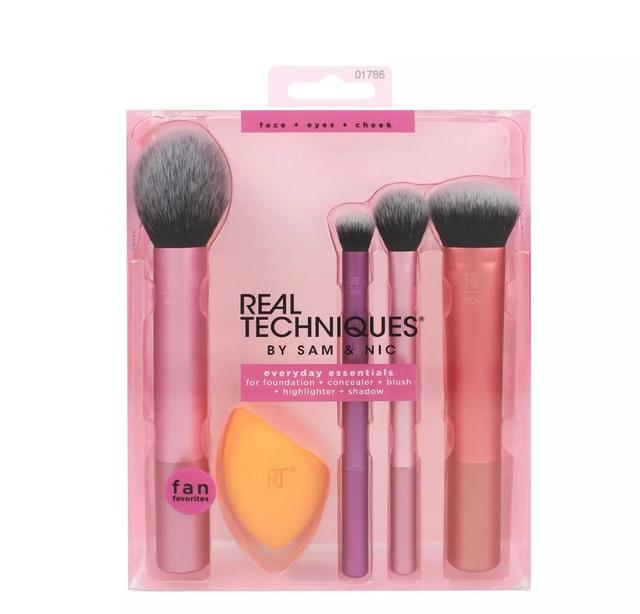 NEW Make up Brushs 1-3-4-5-6-7pcs Maquillage Real Technique Makeup Brushs Powder Loose Box Belt foundation brush 1786 5