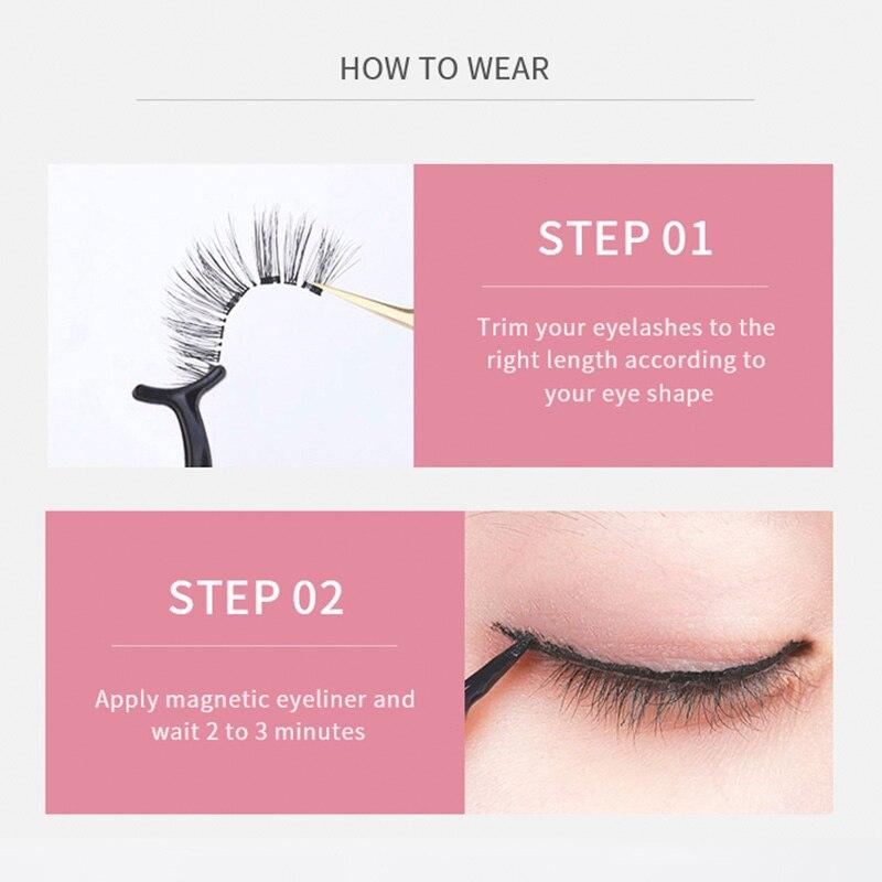 Magnetic Eyelashes False Lashes  4