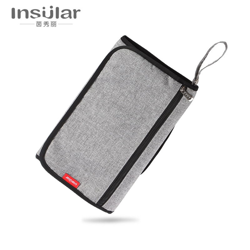 Insular Portable Infant Diaper Changing Pad Diaper Bag Multi functional Baby Changing Table Waterproof Maternal And Child Suppli|Disposable Diapers| |  - title=