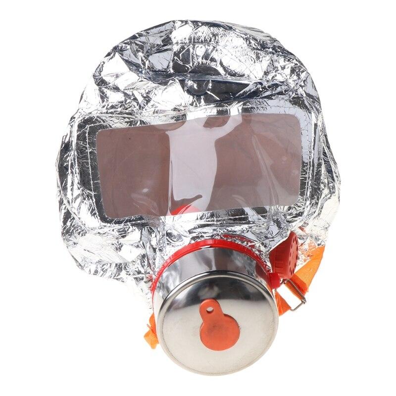 Fire Eacape Face Mask Self-rescue Respirator Gas Mask Smoke Protective Face Cove J2HC